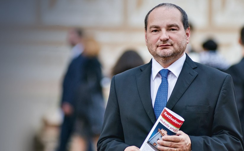 Ředitel festivalu Smetanova Litomyšl slaví úspěch v soutěži Manažer roku 2015