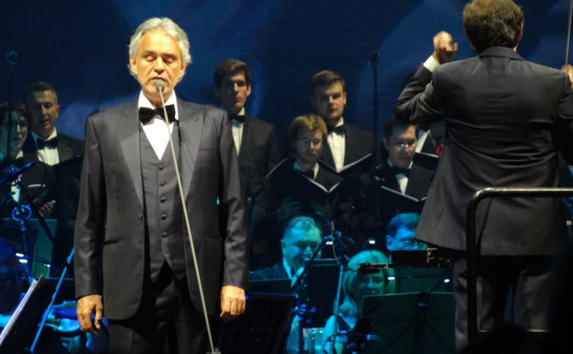 Andrea Bocelli na světovém turné