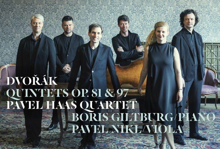 Pavel Haas Quartet triumfoval s nahrávkou Dvořákových kvintetů