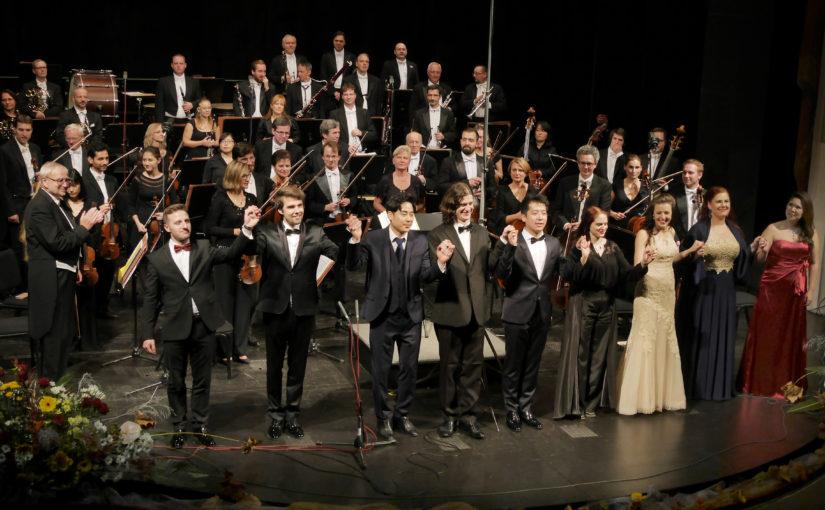 Slavnostní koncert Mezinárodní pěvecké soutěže Antonína Dvořáka